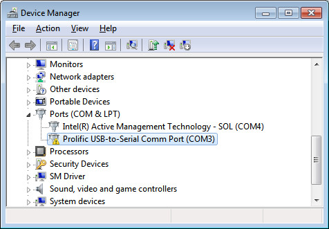 Download usb to serial comm port driver parrotcheese - Prolific usb to serial comm port windows 7 ...