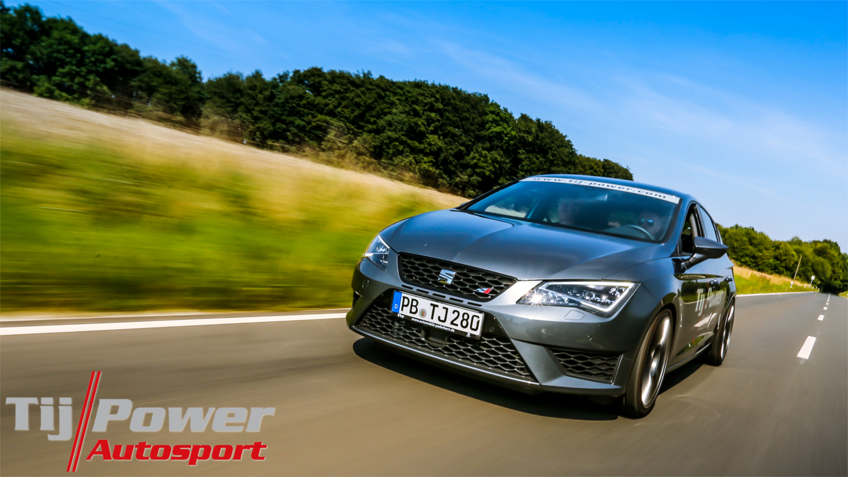 Wallpaper Seat Leon 5F Cupra – Hintergrundbild zum Download
